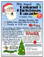 Upland Christmas Parade 2020 Annual Upland Christmas Parade & Holiday Faire